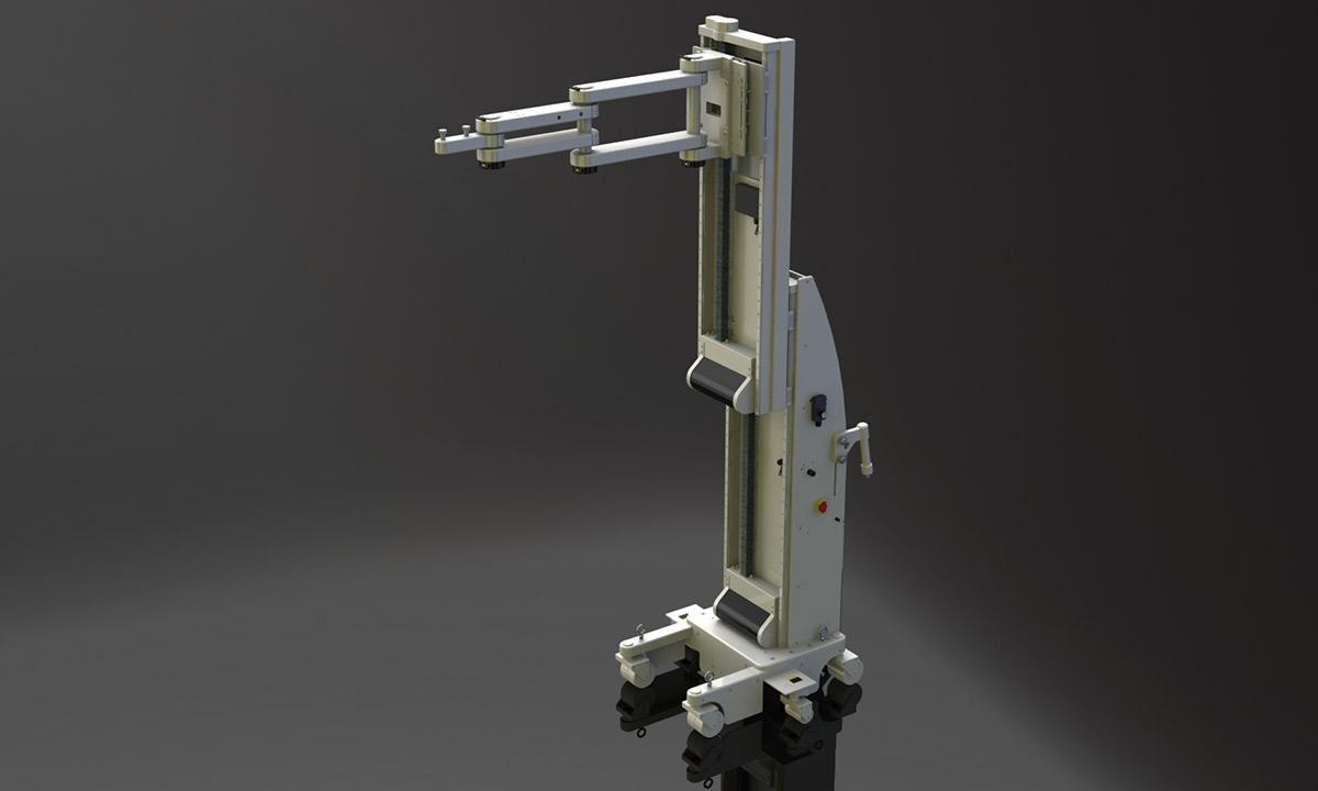 電動アーム付きリフト機 SAアームリフト[SA arm-Lift] |三愛化成商事株式会社