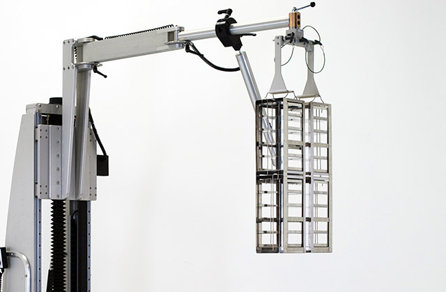 リーチ 電動アーム付きリフト機 SAアームリフト[SA arm-Lift] |三愛化成商事株式会社
