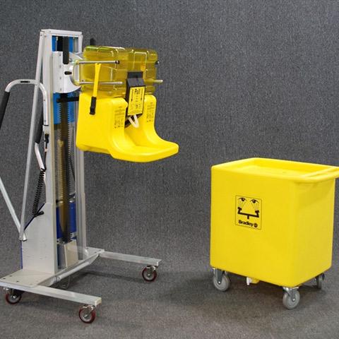 化粧品 電動アーム付きリフト機 SAアームリフト[SA arm-Lift] |三愛化成商事株式会社