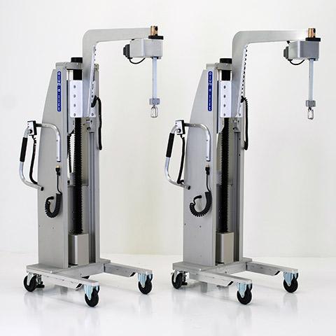 エレクトロニクス 電動アーム付きリフト機 SAアームリフト[SA arm-Lift] |三愛化成商事株式会社
