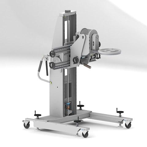 光学 電動アーム付きリフト機 SAアームリフト[SA arm-Lift] |三愛化成商事株式会社