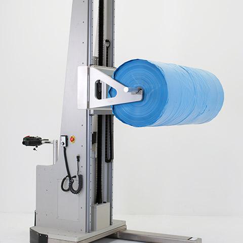 パッケージ 電動アーム付きリフト機 SAアームリフト[SA arm-Lift] |三愛化成商事株式会社