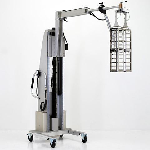 半導体 電動アーム付きリフト機 SAアームリフト[SA arm-Lift] |三愛化成商事株式会社