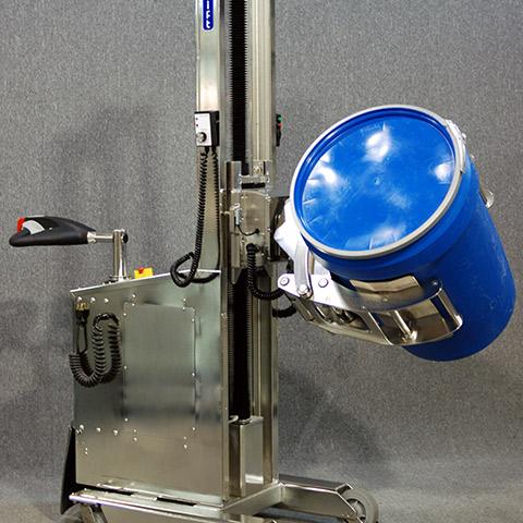 ステンレス鋼 電動アーム付きリフト機 SAアームリフト[SA arm-Lift] |三愛化成商事株式会社