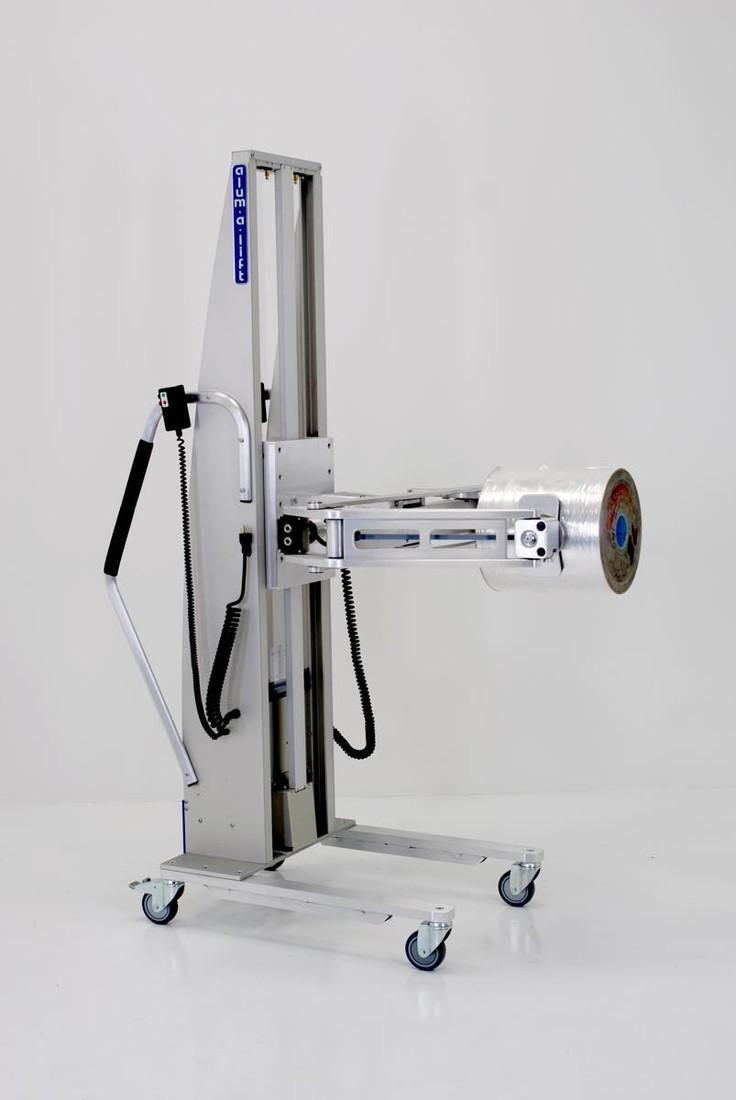 #27555 ロールハンドリング用の電動クランプリフター