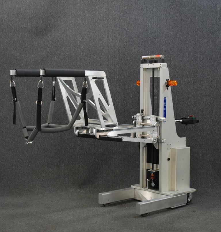 #21082 電子カメラアセンブリを取り扱うためのシャトルクレードルを備えた人間工学に基づいたリフト