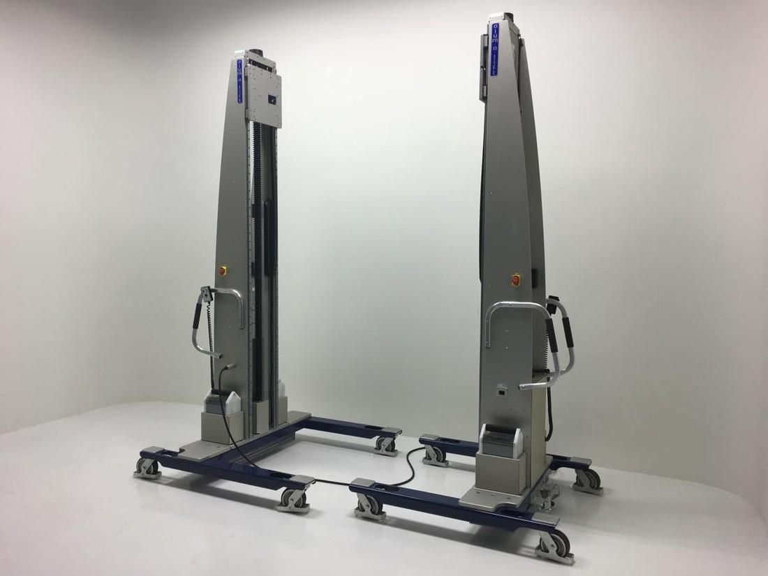 #26708 タンデムマテリアルハンドリングシステムを個別またはペアで使用して、数千ポンドの重量の荷物を持ち上げることができます。