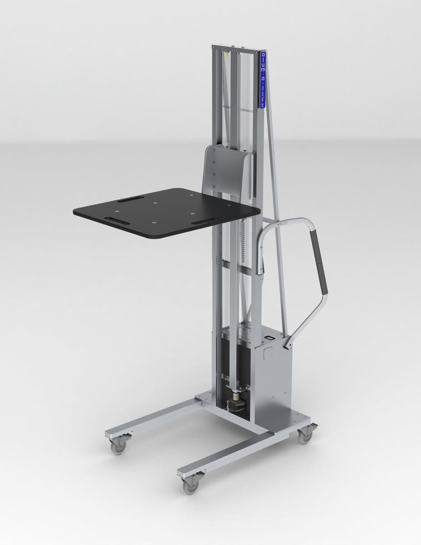 #22728 Lifter featuring a low friction ESD plastic platform