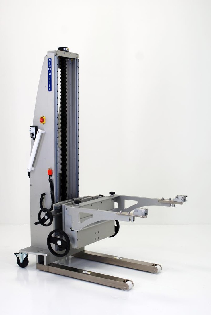 #27444 Class 10,000 Cleanroom Lift with Tilting Cradle
