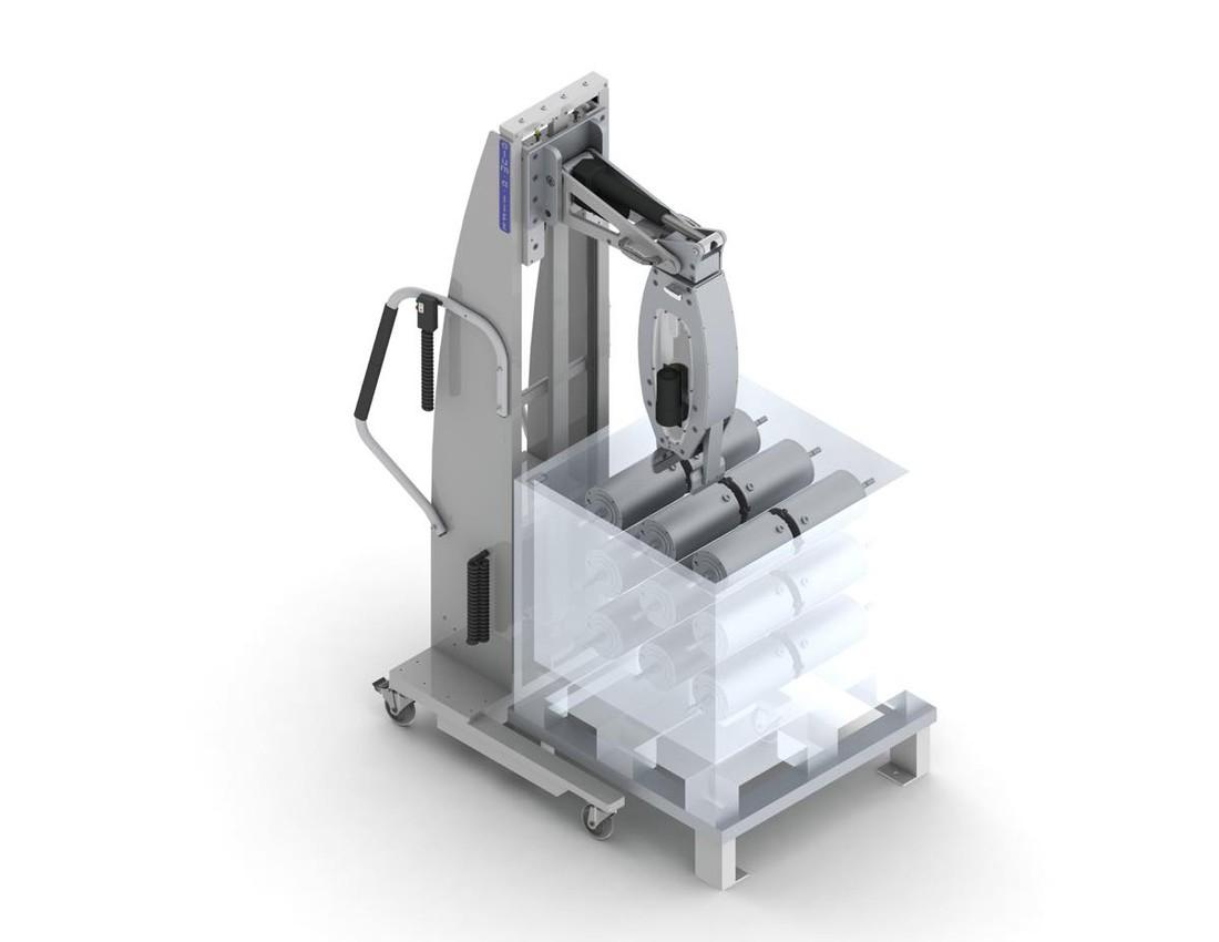 #22767 人間工学に基づいたリフトは、円筒モーターを操作するための回転グリッパーリフトを備えています。