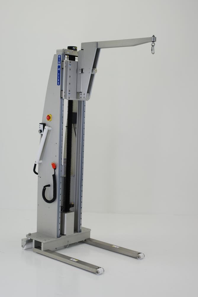 #26228 クリーンルーム機器用ピボットブーム付きリフト
