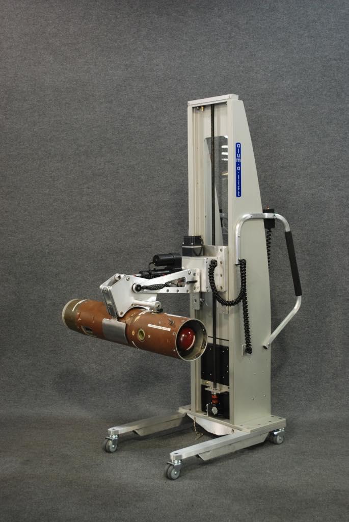 #21600 ミサイルセクション用の電動回転グリッパー