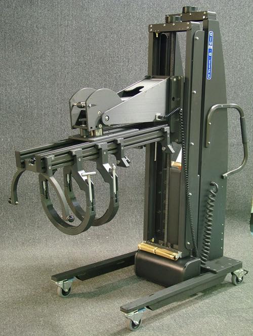 #18021A 円筒形オブジェクト用の電動回転リフター