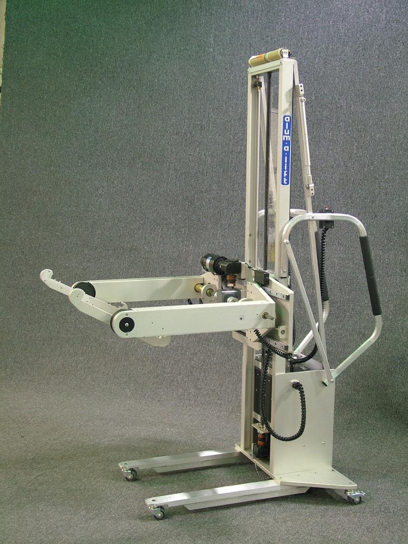 ATE, Jedi lifter for lifting and rotating test fixtures 360° for underside service